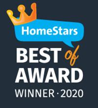 HomeStars Best of 2020 Award