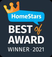HomeStars Best of 2021 Award